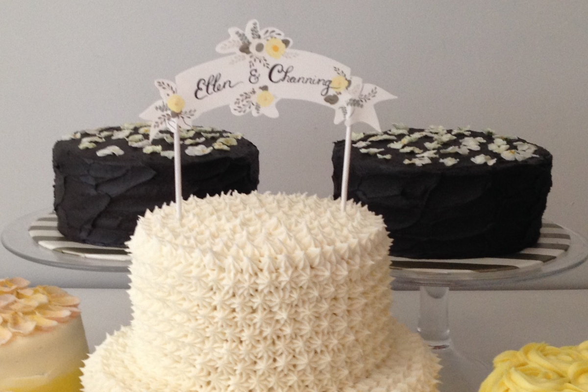 congratulations ellen + channing!