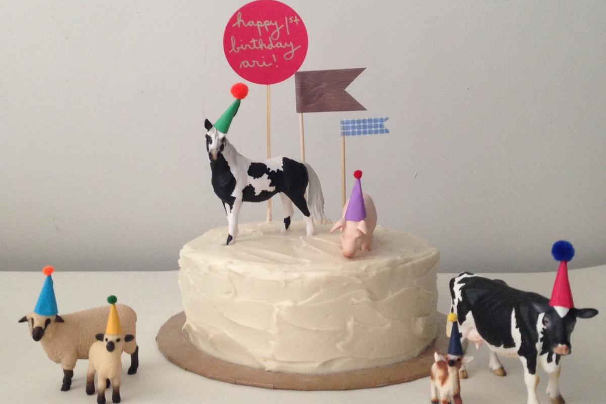 ari turns 1: down on the farm