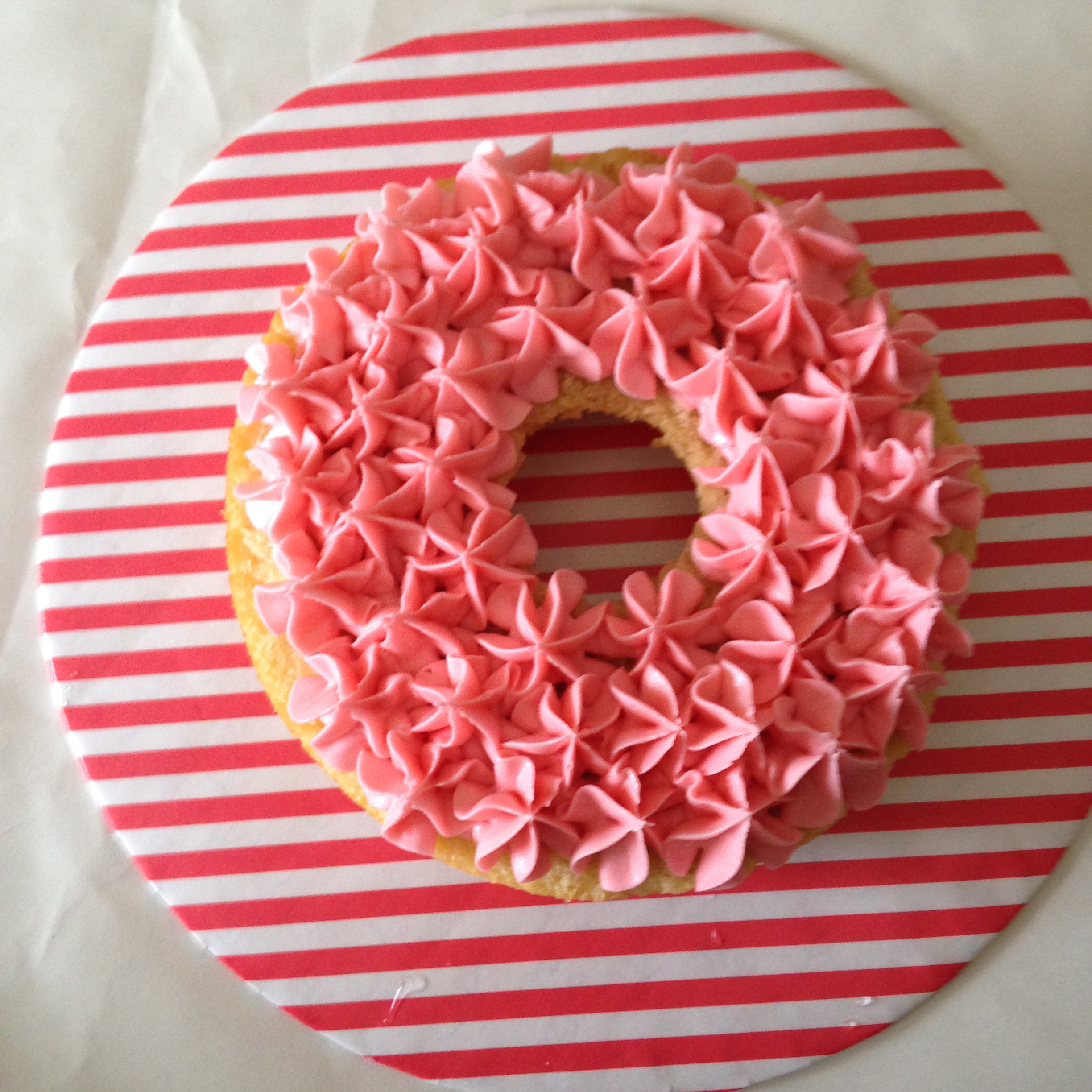 bagel with lox cake