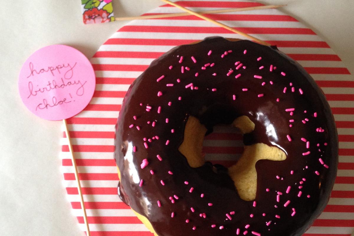 a doughnut for chloe