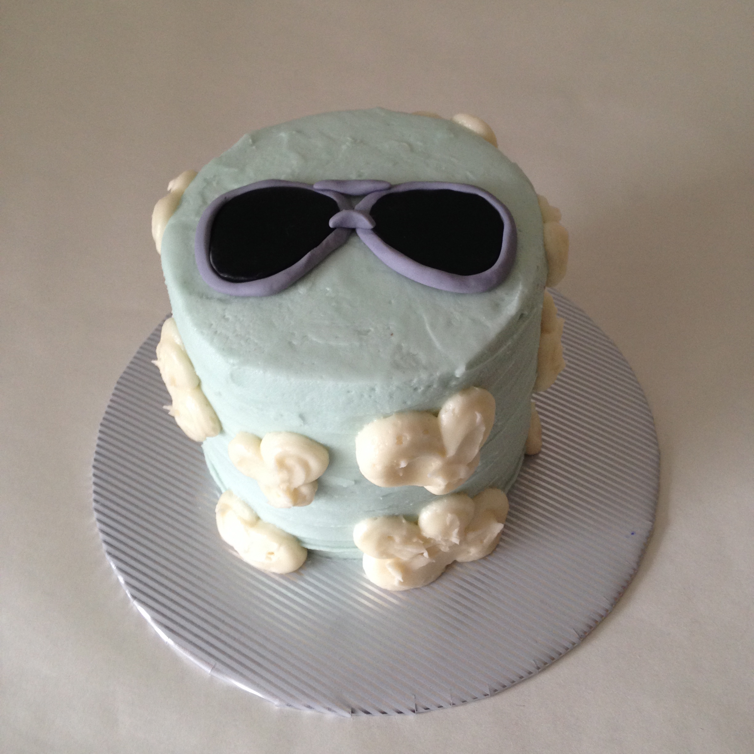 top gun aviators cake