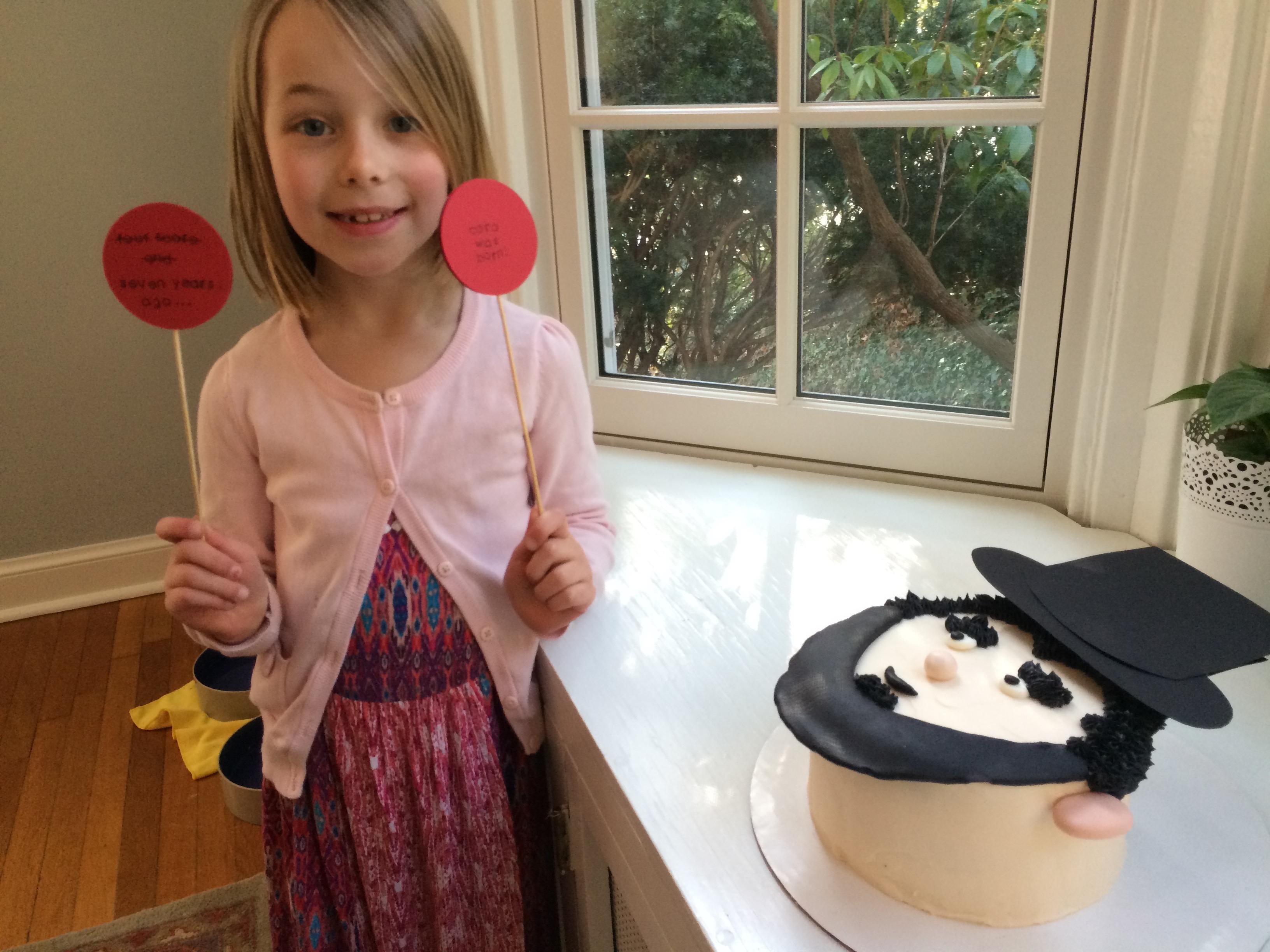 abraham lincoln cake
