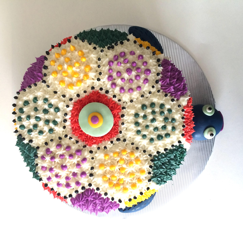oaxacan turtle cake