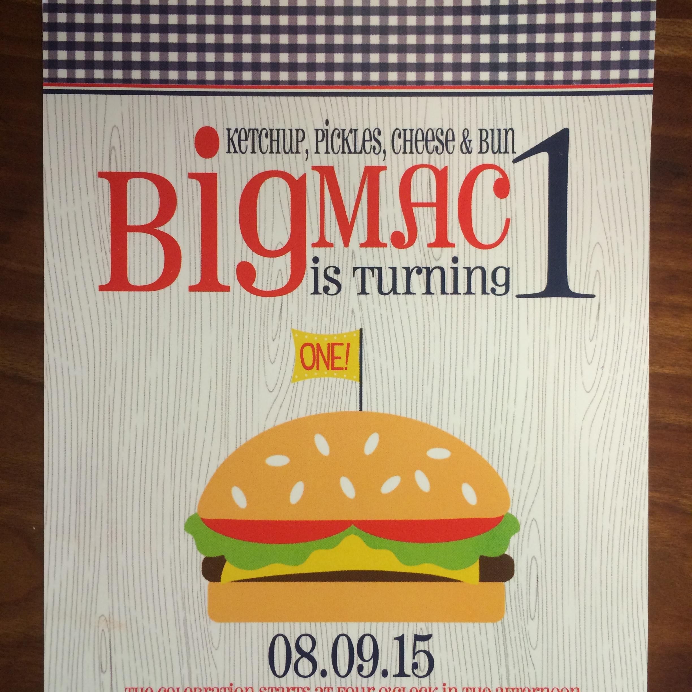 hamburger invitation