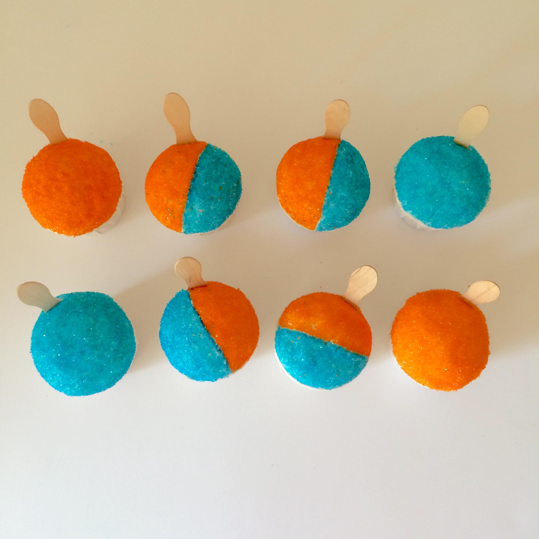 snocone cupcakes